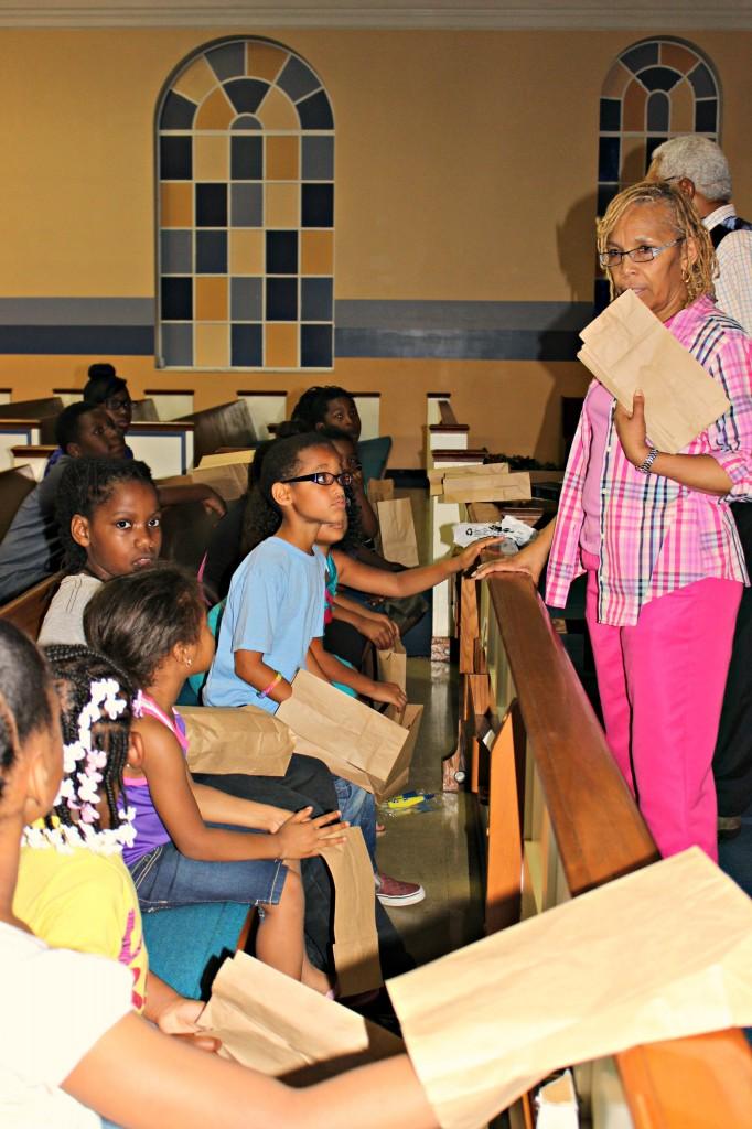 Children at Gateway to Heaven Christian Church